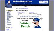 Fun Projects: Garden Bench