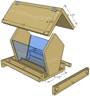 How To Build A Birdfeeder