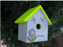 Birdhouse finished