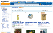 Birdhouses at Amazon