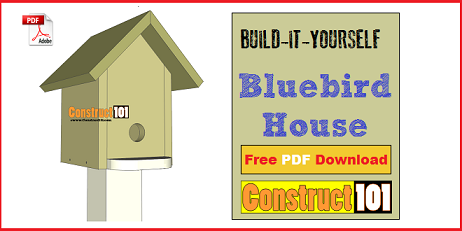 Bird house plans, free simple to build projects, instructions and ...
