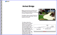 Wood Walkway with Arched Bridge You Can Build