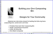Building Your Own Composting Bin