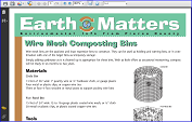 Wire Mesh Composting Bins