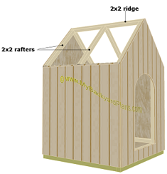 doghouse | ridge | rafters
