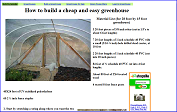 How to build a cheap, simple and easy greenhouse