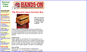 The Keyed Corner Jewelry Box
