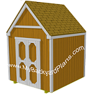 Gable Storage Shed Plans