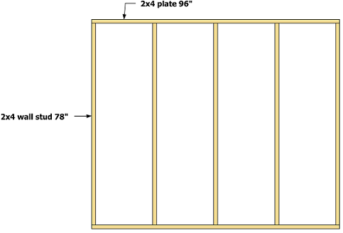 How to build a gable storage shed, pictures and step by step ...