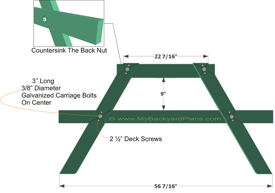 Page Two - Picnic Table Plans - Free Plans