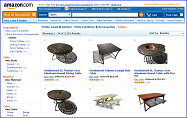 Tables at Amazon