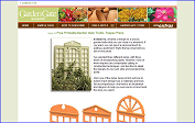 Free PrintableGarden Gate Trellis Topper Plans